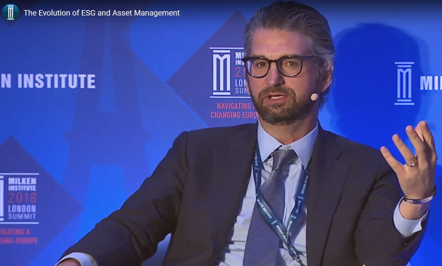 "Milken Institute Panel: ""The Evolution of ESG and Asset Management"""